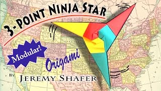getlinkyoutube.com-Three Point Ninja Star