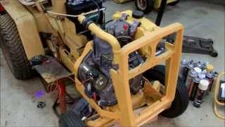 getlinkyoutube.com-Cub Cadet Turbo Diesel Project - Part 10 - It runs with the turbo!