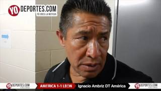 Ignacio Ambriz le pone un 10 a la aficion de Chicago Tour Aguila America vs Leon