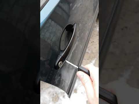 Замена личинки двери volkswagen polo 9n