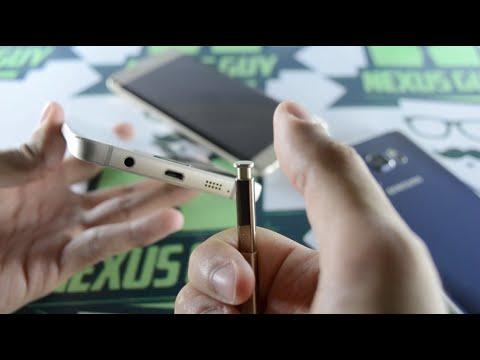 فتح صندوق جهاز Samsung Galaxy Note5
