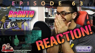 BORUTO EP. 63 REACTION + REVIEW!! | All. The. Feels. width=
