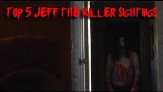 getlinkyoutube.com-Jeff The Killer Sightings | Top 5 (Creepy)