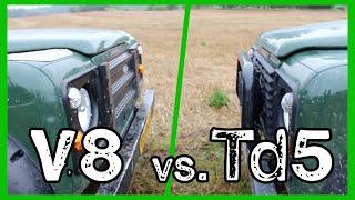 Defender Showdown! | V8 vs.Td5