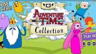 getlinkyoutube.com-Adventure Time Game Collection Walkthrough Gameplay
