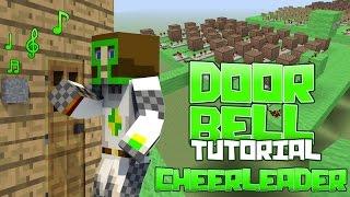 """getlinkyoutube.com-OMI - Cheerleader Noteblock Door Bell """"Tutorial"""" Minecraft"""