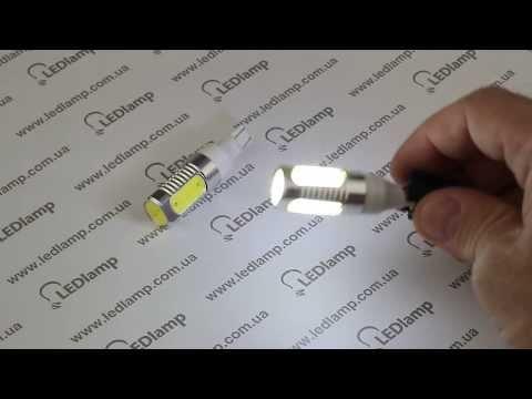 Лампа светодиодная ЗАДНИЙ ХОД T10 6W W16W (white)