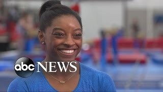 getlinkyoutube.com-Gymnast Simone Biles Aims to Make Olympic History