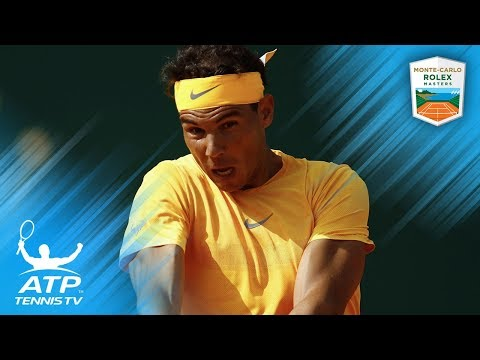 Rafa Nadal`s Best Shots vs Bedene: Monte-Carlo 2018 Second Round