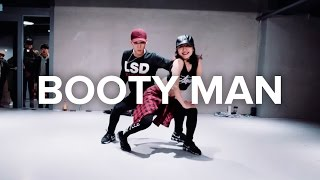 getlinkyoutube.com-Booty Man (Cheek Freaks Remix) - Redfoo / May J Lee & Koosung Jung Choreography
