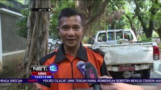 getlinkyoutube.com-Viral Anggota Pasukan Oranye Menyelam di Selokan - NET12