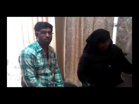 Hijama in Bangalore - Syed Muzammil with his Aunt