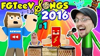 getlinkyoutube.com-FGTEEV SONGS of 2016 YOUTUBE REWIND #1 (Songs for KIds w/ Games FNAF MINECRAFT POKEMON AMAZING FROG)