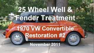 getlinkyoutube.com-25 of 44 1970 VW Beetle Wheel Well & Fender Treatment.wmv