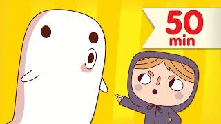 getlinkyoutube.com-Go Away! + More | Kids Songs Collection | Super Simple Songs