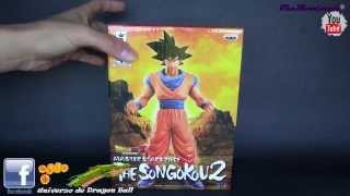 dragon ball z figura the songokou 2 ( son goku ) edicion master stars piece video review en español