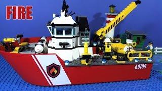 getlinkyoutube.com-LEGO CITY FIRE BOAT 60109