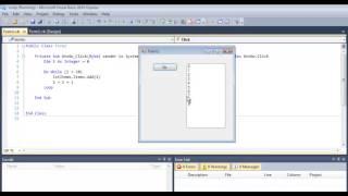 getlinkyoutube.com-Visual Basic Do While Loop Tutorial Using a List Box - VB.NET Algorithm