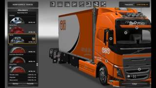 [ETS2]Euro Truck Simulator 2 Pack Volvo FH 2012 Tandem (25 meters) V1.24
