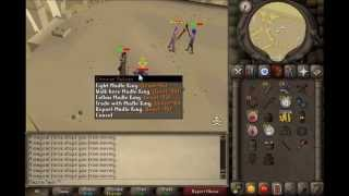 getlinkyoutube.com-Rebuilding is too easy, 1 Pray Armor/Mage staking 999134thpure OSRS video 11