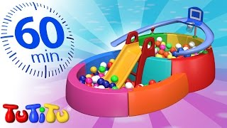 getlinkyoutube.com-TuTiTu Specials | Ball Pit | And Other Popular Toys for Kids | 1 HOUR Special
