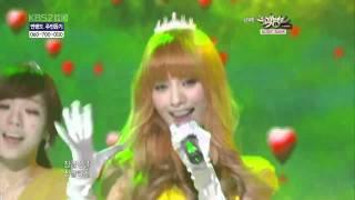 getlinkyoutube.com-[LIVE HD] [101203]Orange Caramel (오렌지 캬라멜) - A~ing♡ (아잉♡)