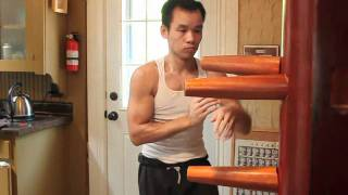 getlinkyoutube.com-Wing Chun Wooden Dummy form