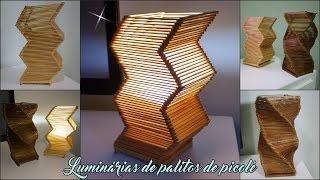 getlinkyoutube.com-Luminarias feitas com palitos de picolé - Passo a passo!