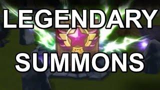 getlinkyoutube.com-LEGENDARY SUMMONS   -   Summoners War