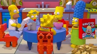 getlinkyoutube.com-LEGO Dimensions - Simpsons Level Pack All 10 Minikits (TARDIS Secret Area)
