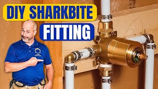 getlinkyoutube.com-How To Install Copper To Pex Shower and Bath Plumbing