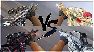 getlinkyoutube.com-CrossFire 2.0 : M4A1-S PREDATOR vs M4A1-S VIP's [VVIP M4A1-S Comparison]