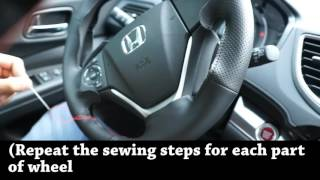getlinkyoutube.com-Installation Video of Steering Wheel Cover