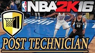 getlinkyoutube.com-NBA 2K16 POST SPIN TECHNICIAN BADGE