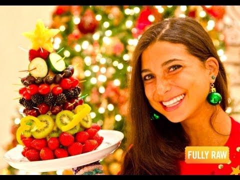 FullyRaw Edible Christmas Trees! @FullyRaw