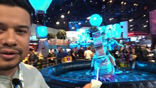 FORTNITE BOOTH AT E3 IS SICK!!!