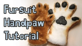 getlinkyoutube.com-Fursuit Handpaw Tutorial