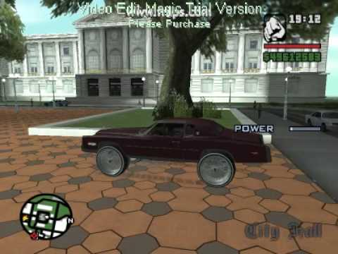 GTA SA Tunning Mod and How To Make A Donk