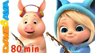 getlinkyoutube.com-🐷 This Little Piggy | Nursery Rhymes Collection | Nursery Rhymes and Kids Songs from Dave and Ava 🐷