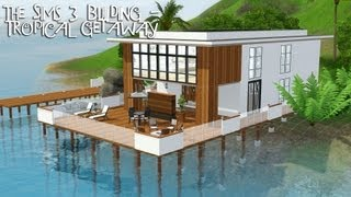THE SIMS 3 BUILDING - Tropical Getaway