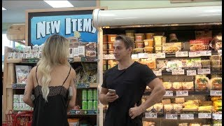 How To Pick Up Girls In a Grocery Store! width=