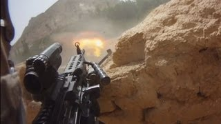 getlinkyoutube.com-FIREFIGHT ON HELMET CAM IN AFGHANISTAN - PART 1 | FUNKER530