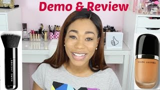 getlinkyoutube.com-MARC JACOBS REMARCABLE FOUNDATION & BRUSH REVIEW/DEMO - ChimereNicole