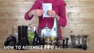 getlinkyoutube.com-Kuvings Whole Slow Juicer cara penggunaan dan perawatanya