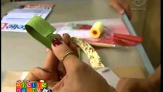 getlinkyoutube.com-Lê Arts Artesanatos - Carteira sanfonada - Ateliê na TV - 17/09