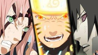 getlinkyoutube.com-Naruto/Sasuke/Sakura/Kakashi vs Kaguya fight