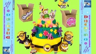 getlinkyoutube.com-Toys Unlimited Awesomesauce Package! Minions! Shopkins! My Little Pony!