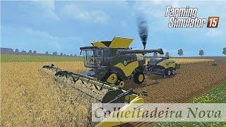 getlinkyoutube.com-Farming Simulator 15 - mod de Colheitadeira e Enfenadeira
