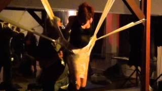 Lew Rubens and Zonah Bellum Plastic Wrap Suspension