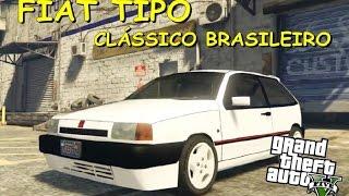 getlinkyoutube.com-GTA 5 MOD - Fiat Tipo Clássico Brasileiro (+Download)